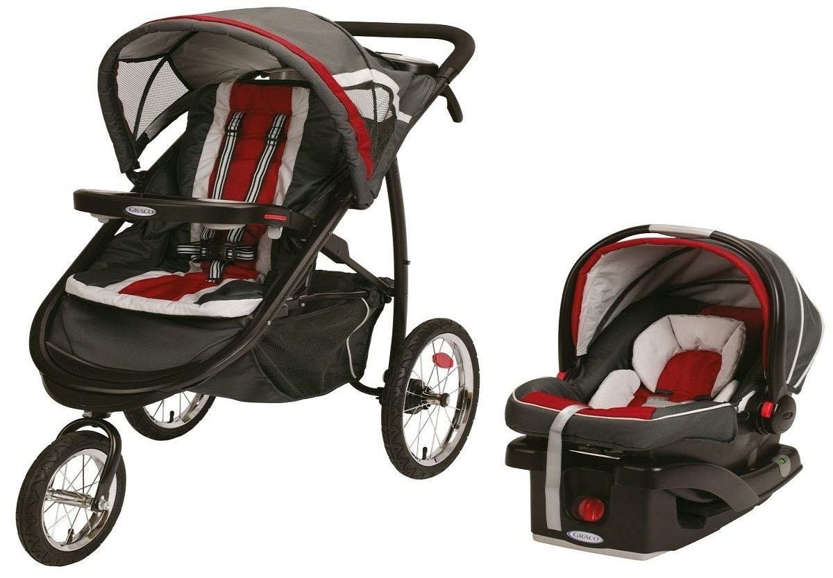 A Graco Baby travel system stroller is a package that is