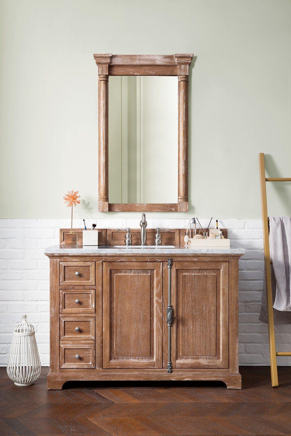 48 Providence Driftwood Single Bathroom Vanity Single Bathroom Vanity Bathroom Vanity Rustic Bathroom Designs