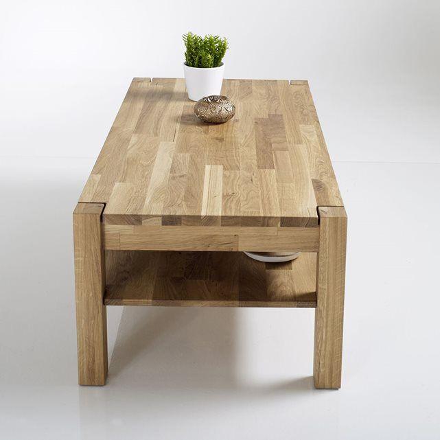 Table Basse Chene Huile Adelita Table Basse Chene Table Basse Plateau Chene