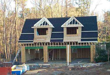 Custom Garage Building Construction Example | Detached Garage | Triple Garage | Carolina Garage Builders