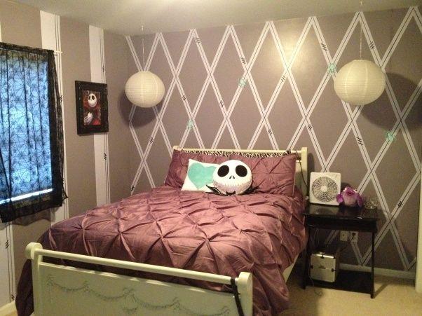 Nightmare Before Christmas Room Idea Not Too Dark Christmas Room Kid Room Decor Christmas Bedroom