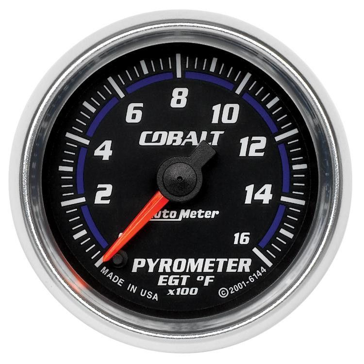 Autometer Cobalt 52mm 1600 Deg F Electronic Pyrometer Gauge ... on nos wiring, battery relocation wiring, auto meter tach wiring, hei distributor wiring, mopar ecu wiring, ford wiring, line lock wiring, bosch wiring, gear vendors wiring, denso wiring, mark viii fan wiring, tow ready wiring, apexi neo wiring, aeromotive wiring, 3g alternator wiring, mallory wiring,