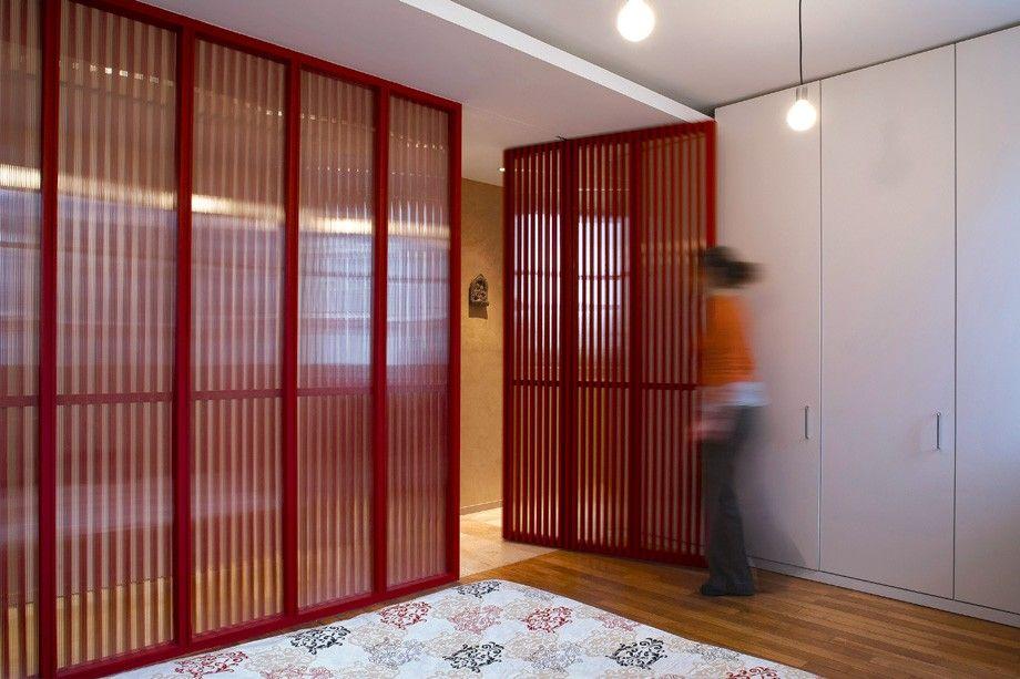 Séparer avec une cloison à claire-voie Architecture et design - decoration portes d interieur