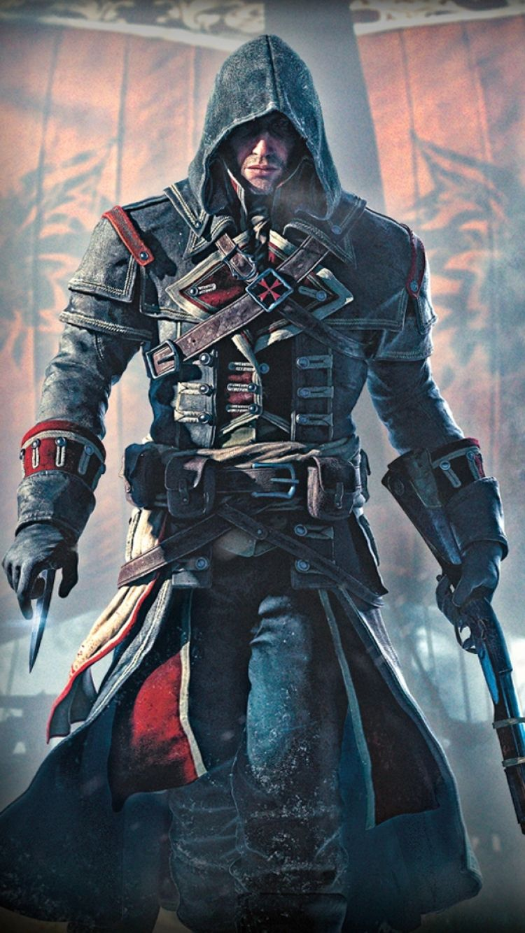 Iphone 7 Video Game Assassins Creed Rogue Wallpaper Id 470946