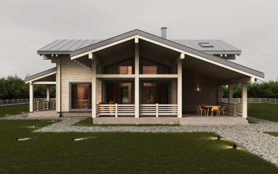 Dom V D Leskovka 215 M2 Dvojnoj Brus Derevyannyj Dom Derevo Proekt Doma Proektirovanie Wood House Light Arhitektura Doma Proekty Domov Dom