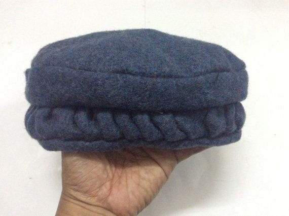 afghan hat pakul pakol Islamic Men Hat Kofi Muslim by emonshop 16407efbd5
