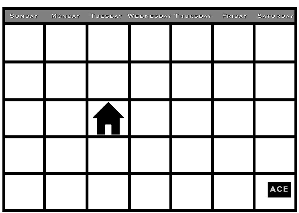 Wrong Dates On My Airbnb Rental How About A Full Refund Printable Blank Calendar Blank Calendar Template Calendar Printables