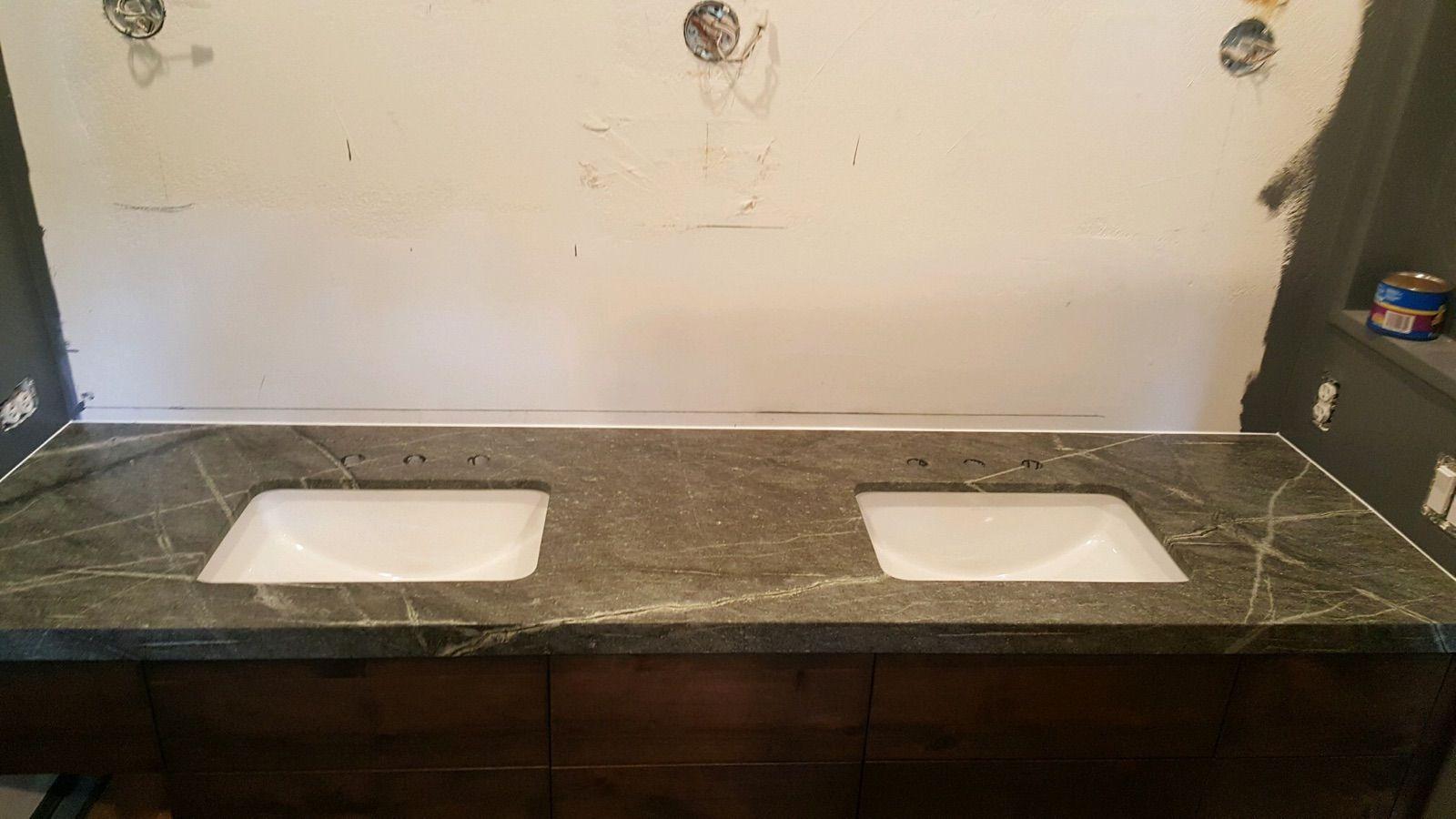 Atlantic Lava Stone Bathroom Countertop Engineered Stone Stone
