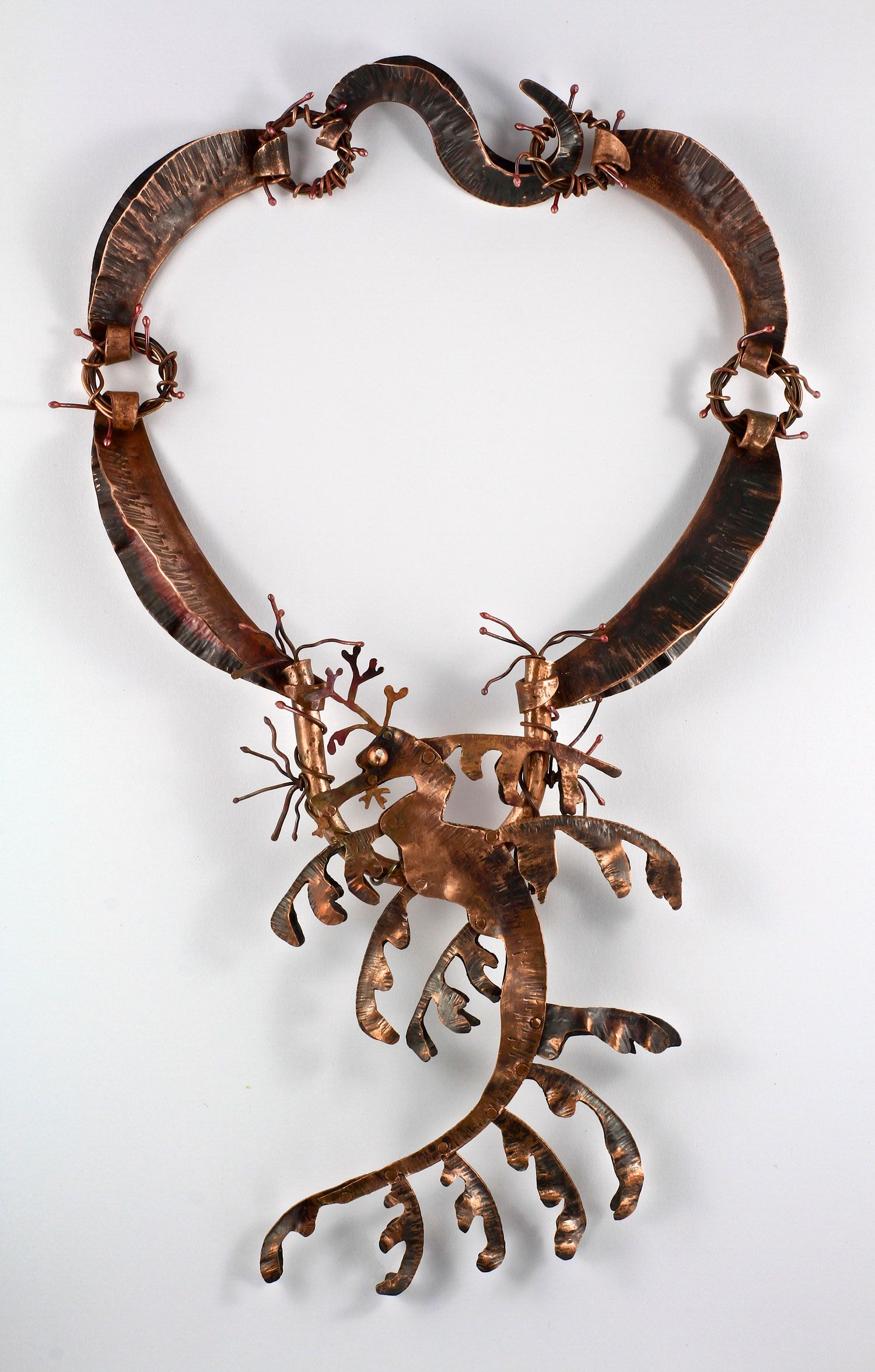Leafy Sea Dragon - my entry in the Lewton-Brain Foldform competition 2013.