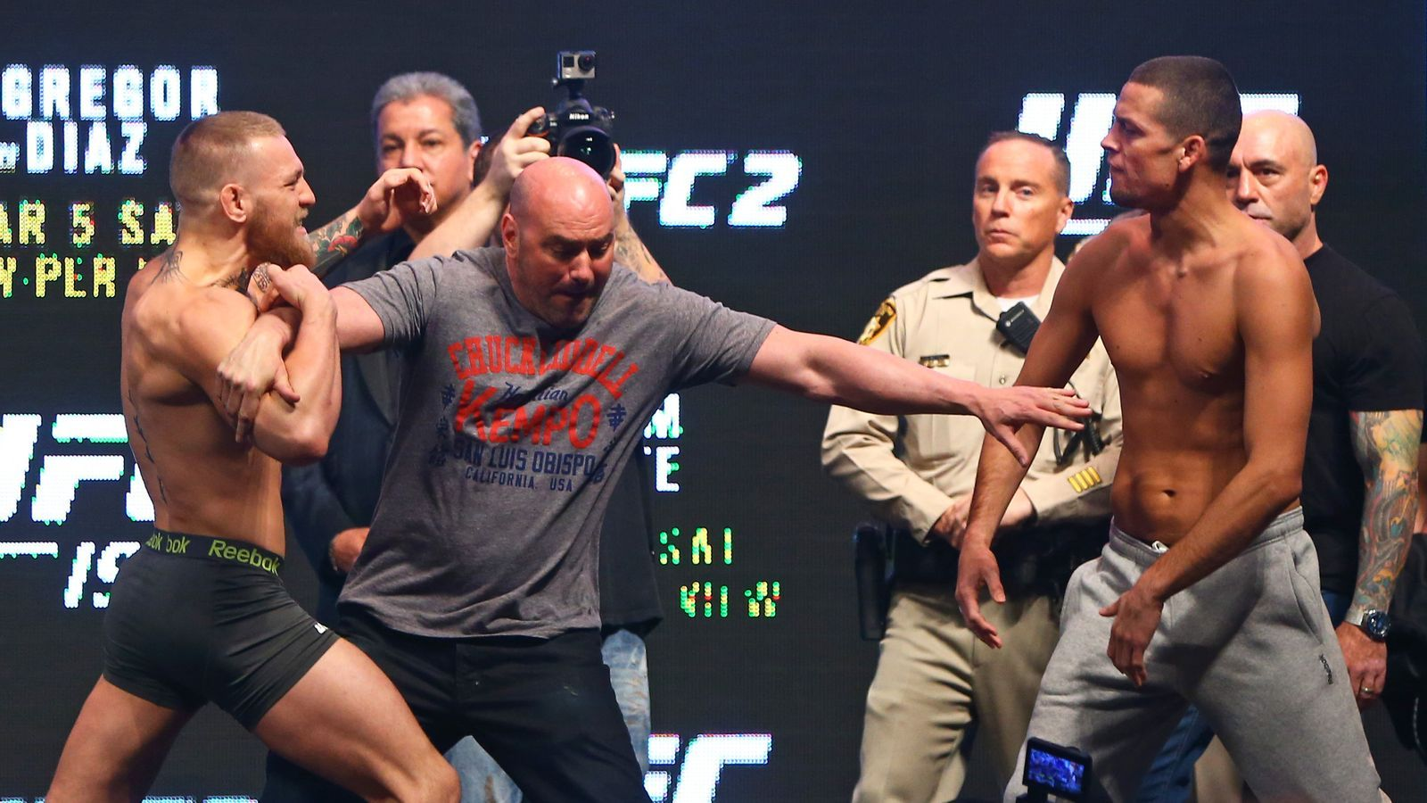 Manager Nate Diaz needs to 'get Conor McGregor excited