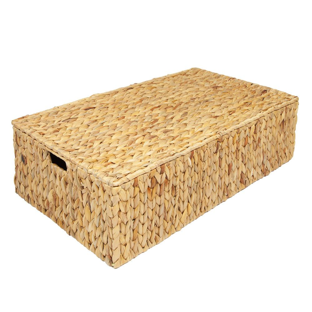 Details about water hyacinth under bed storage box trunk
