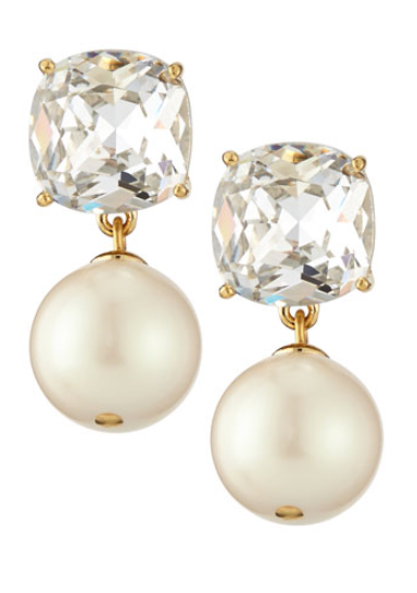 Cute Kate Spade Pearl And Crystal Drop Earrings Http Rstyle Me