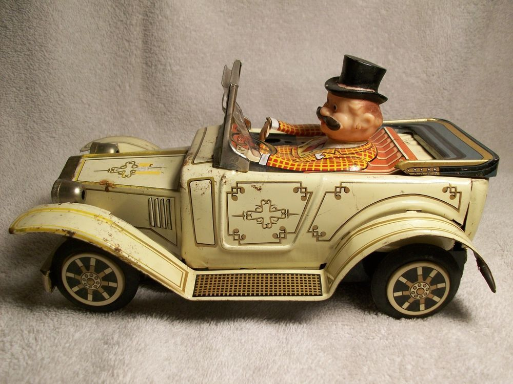 vintage Trade mark tin car   antique and vintage toys   Pinterest ...