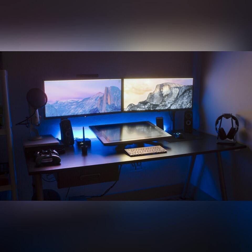 les 25 meilleures id es de la cat gorie bureau ordinateur ikea sur pinterest rangement. Black Bedroom Furniture Sets. Home Design Ideas
