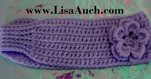 FREE Crochet Headband Earwarmer Pattern (easy Adult Crochet Headband)