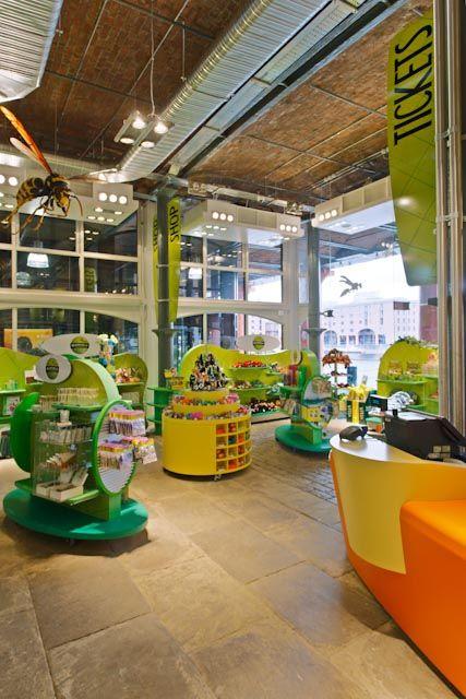 Inside Shop Area