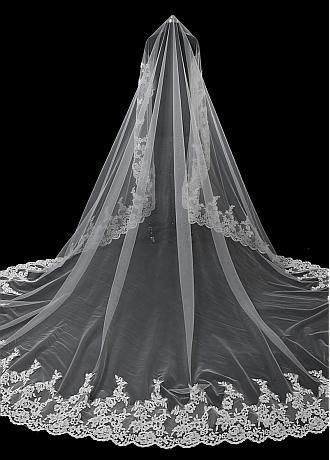 Buy Lace And Long Cheap Wedding Veils For Sale Adasbridal Com Wedding Veils Tulle Wedding Veil Wedding Bridal Veils