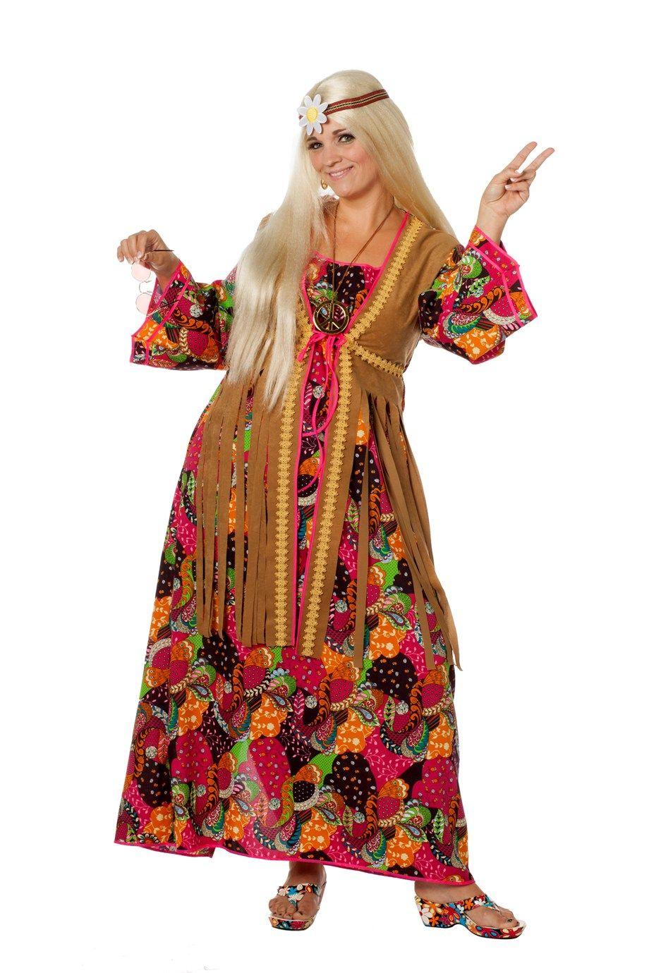 Hippie kleid damen xxl