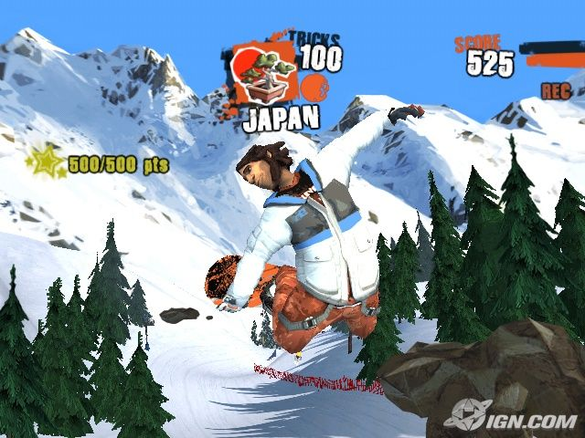 ps1 snowboarding game