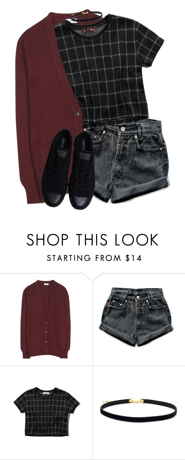 """""""Untitled #439"""" by whovian-of-fashion ❤ liked on Polyvore featuring Closed, Levi's, Abercrombie & Fitch and Converse"""