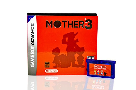 FREE SHIPPING Mother 3 / Earthbound 2 by 8bitevolutiongaming