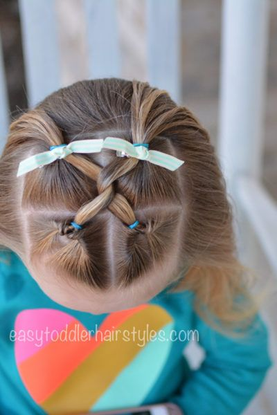 Easy Toddler Hairstyles - Easy and quick toddler hair tutorials and ideas