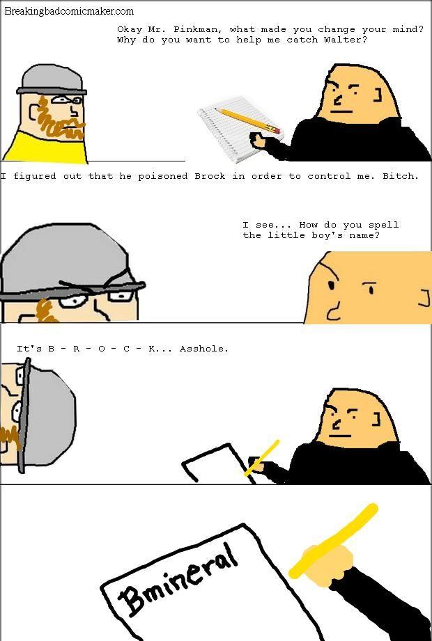 Breaking Bad Comic Maker