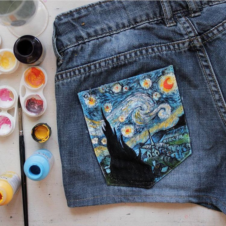 Instagram Da Publicity For Artists Starry Night Painted
