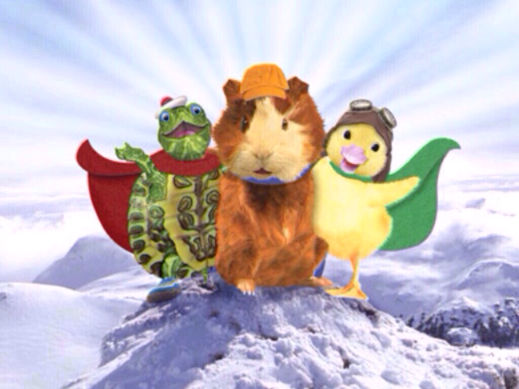 Wonder Pets On A Mountain En 2020 Mascotas Personajes