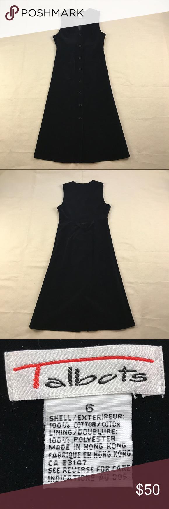 Talbots long black velvet dress flats and velvet dresses