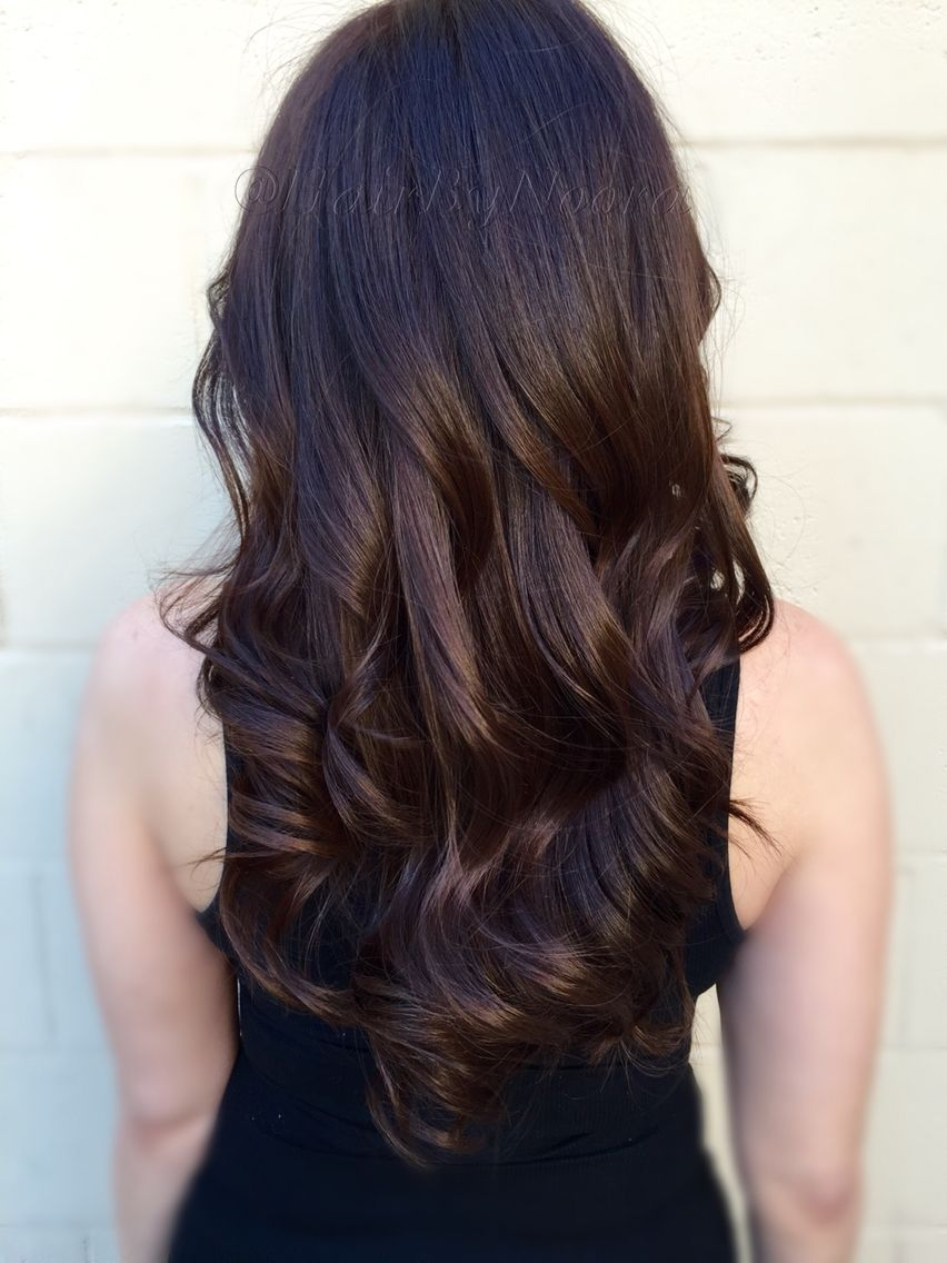 Espresso Brown Brunette With Images Espresso Hair Color Hair
