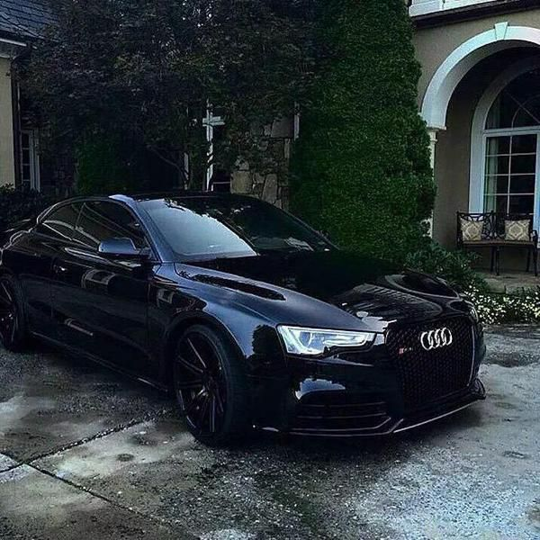Blacked Out Audi RS5
