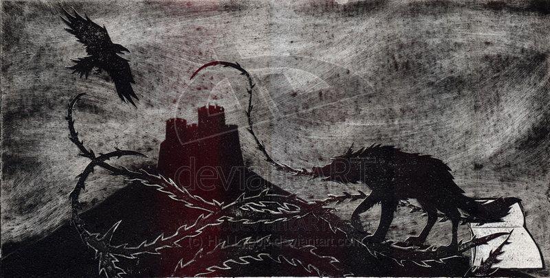 The Book Of Lost Things Dark Fairy Moon Shadow Art