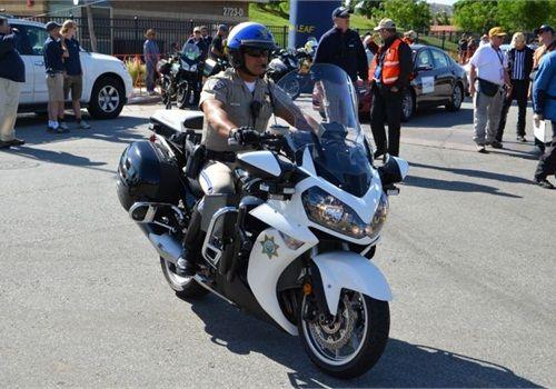 Kawasaki police motorcycle police motorcycles for Motor vehicle division chandler az