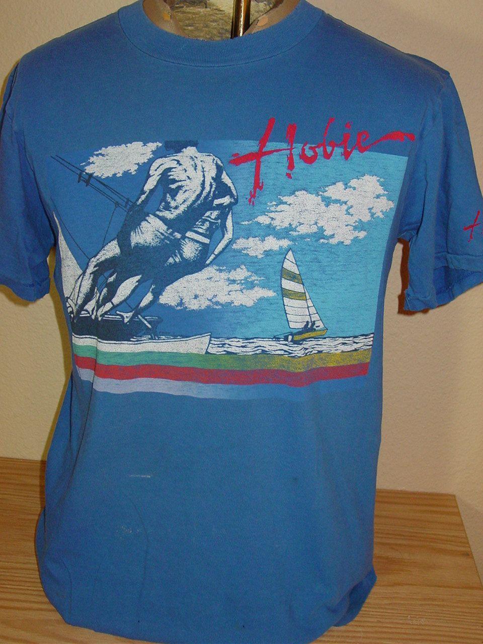 a638e06905 Vintage 1980s Hobie beach surf t shirt Large by vintagerhino247 on ...