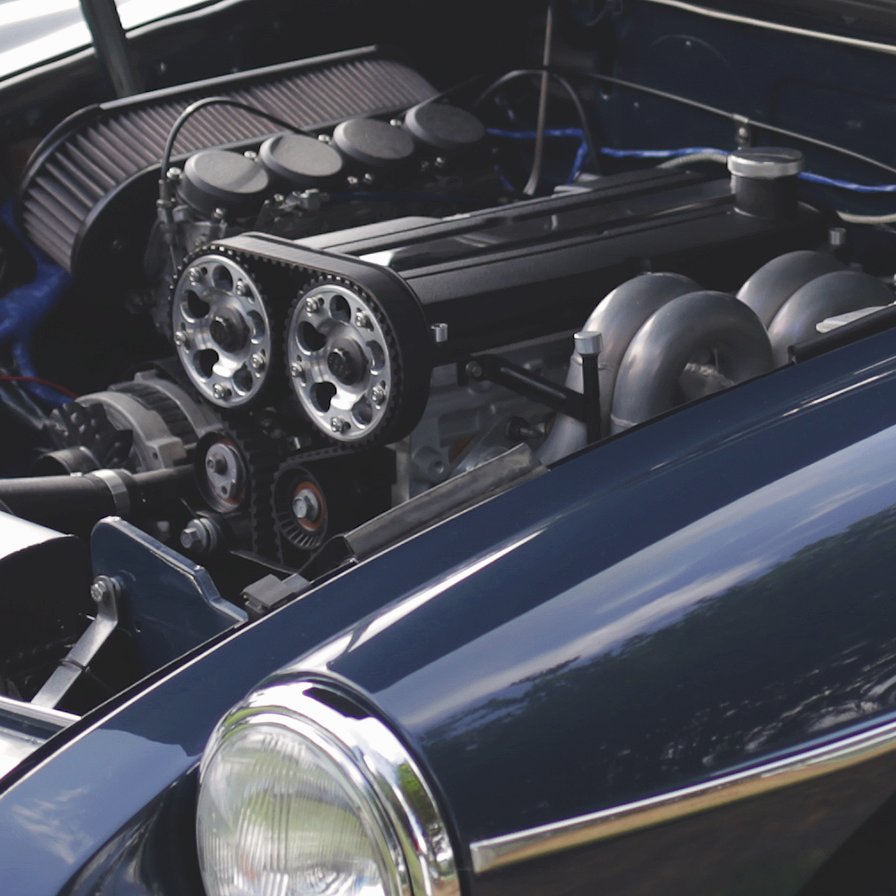 1979 Mg Mgb Roadster With A Custom Built 2 0l Ford Zetec Engine