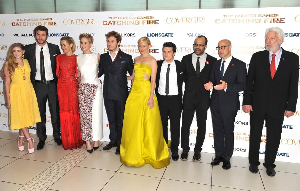 Catching Fire Cast Hunger Games 3 Mockingjay Part 2 Prom