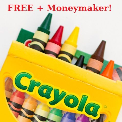 freebie hurry to snag a free 24 count of crayola crayons