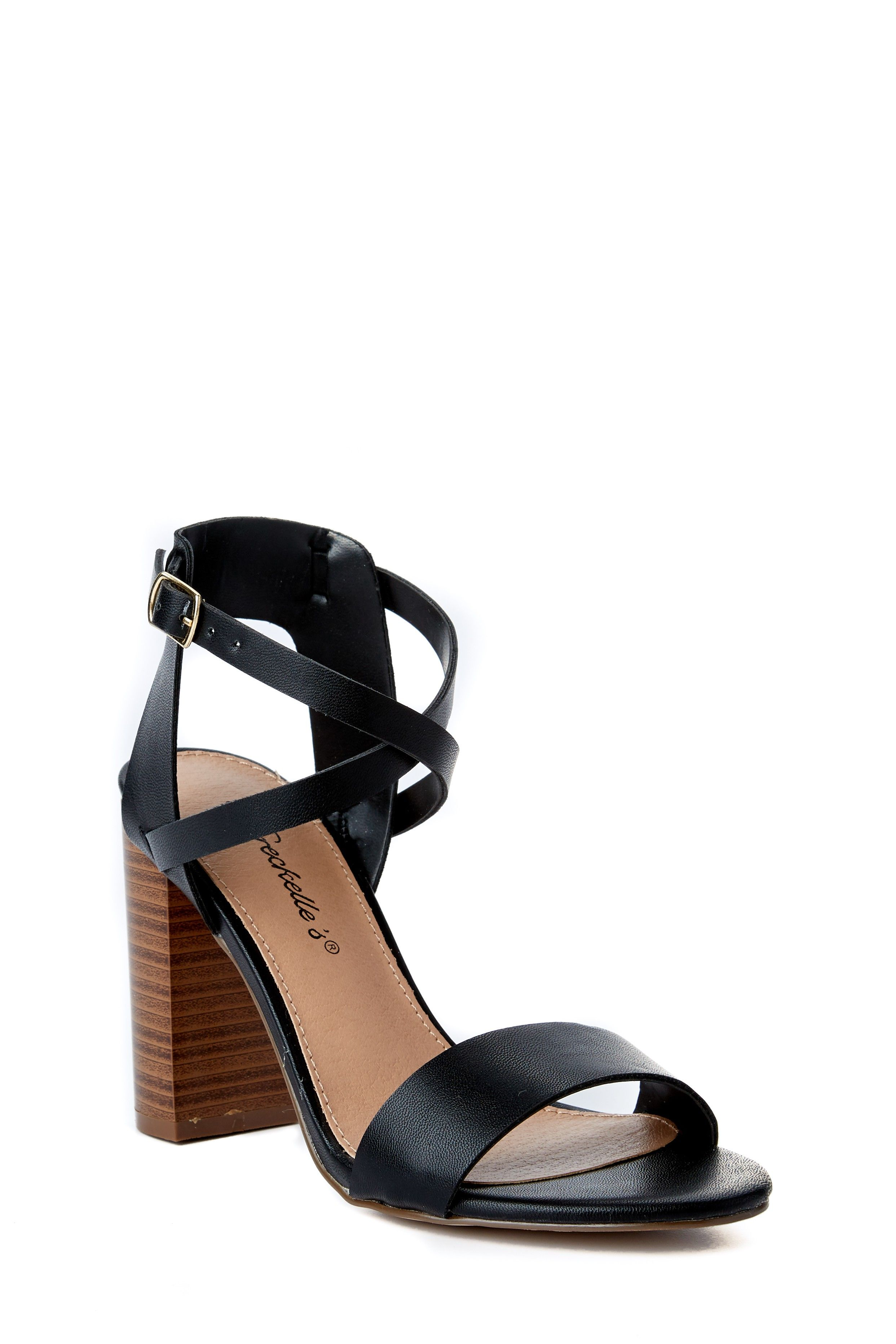 3a7fc997748 Cute Black Heels - High Heel Sandals - Ankle Strap Heels -  28.00 ...