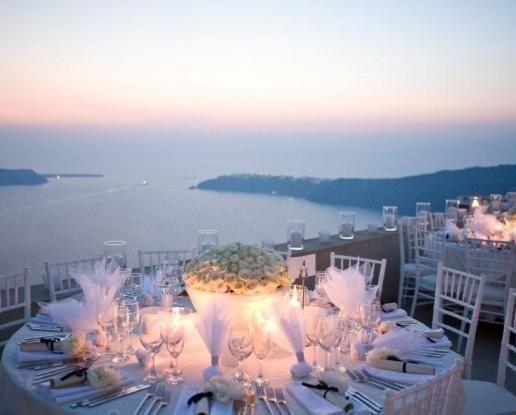 Weddings In Santorini Civil Wedding Greece Chapel Winery Luxury Hotel