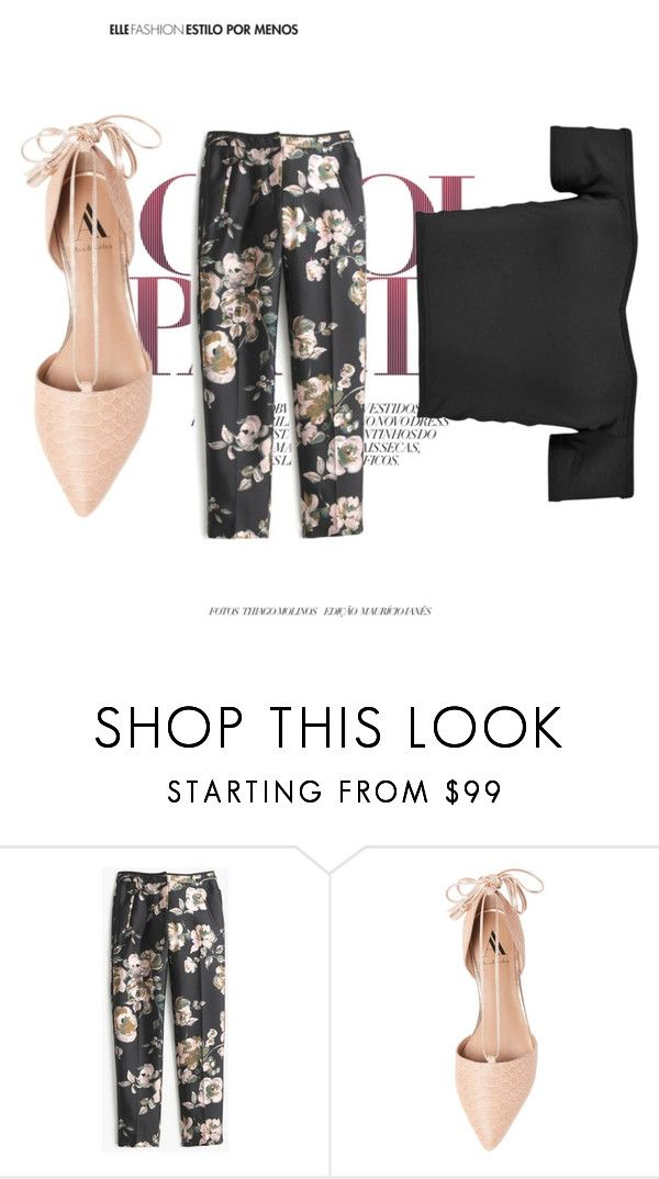 """""""Untitled #77"""" by ben735 ❤ liked on Polyvore featuring moda, J.Crew ve Ava & Aiden"""