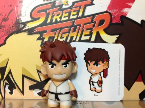 Street Fighter Series 2 Kidrobot Vinyl Mini Figures Dhalsim 2//20 Rarity