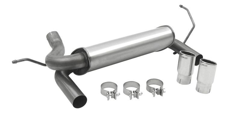 Dynomax 39510 Dynomax® Super Turbo Exhaust With Dual Exit In Stainless Steel For Jeep® Wrangler Unlimited Jk Quadratec: Jeep Tj Dynomax Exhaust At Woreks.co