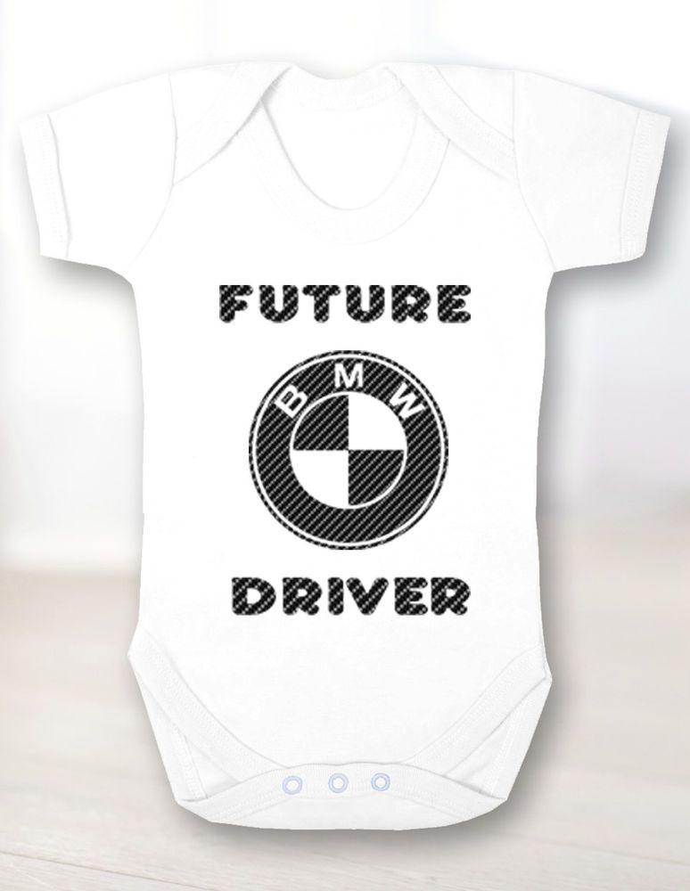 Baby Mercedes Bodysuit Mercedes Future Driver Body Newborn Gift Unisex Clothing