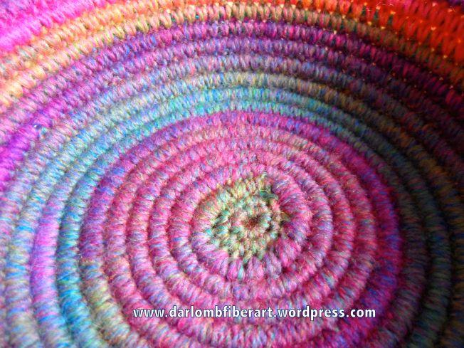 Uncinetto a spirale carrello Close-up