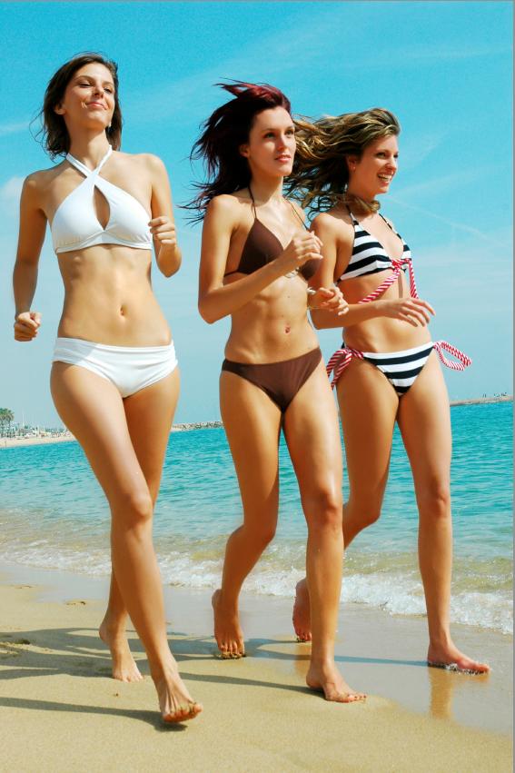 four weeks ready in Bikini