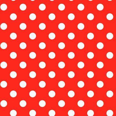 Plakplastic Polkadot rood