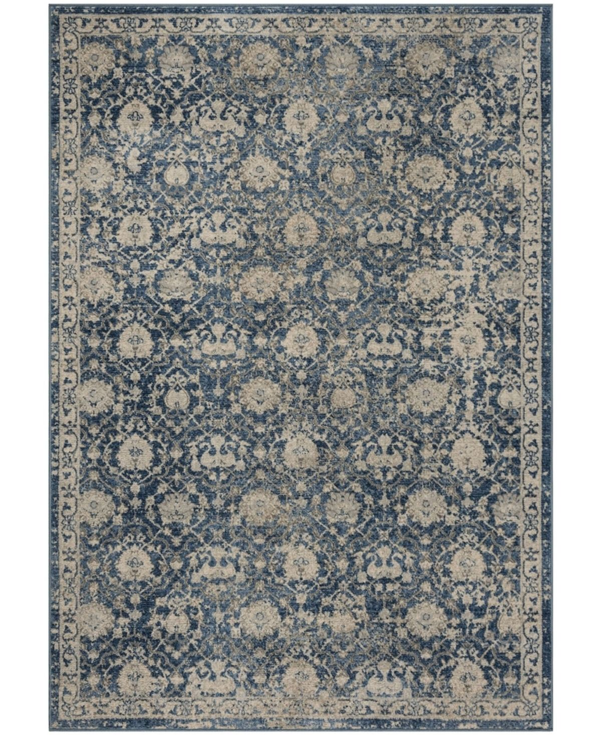 Safavieh Brentwood Navy And Creme 8 X 10 Area Rug Reviews