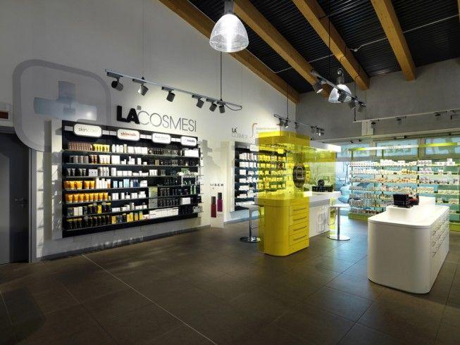 Pharmacie design lazzarin id e d co pharmacie for Pharmacie de la claire