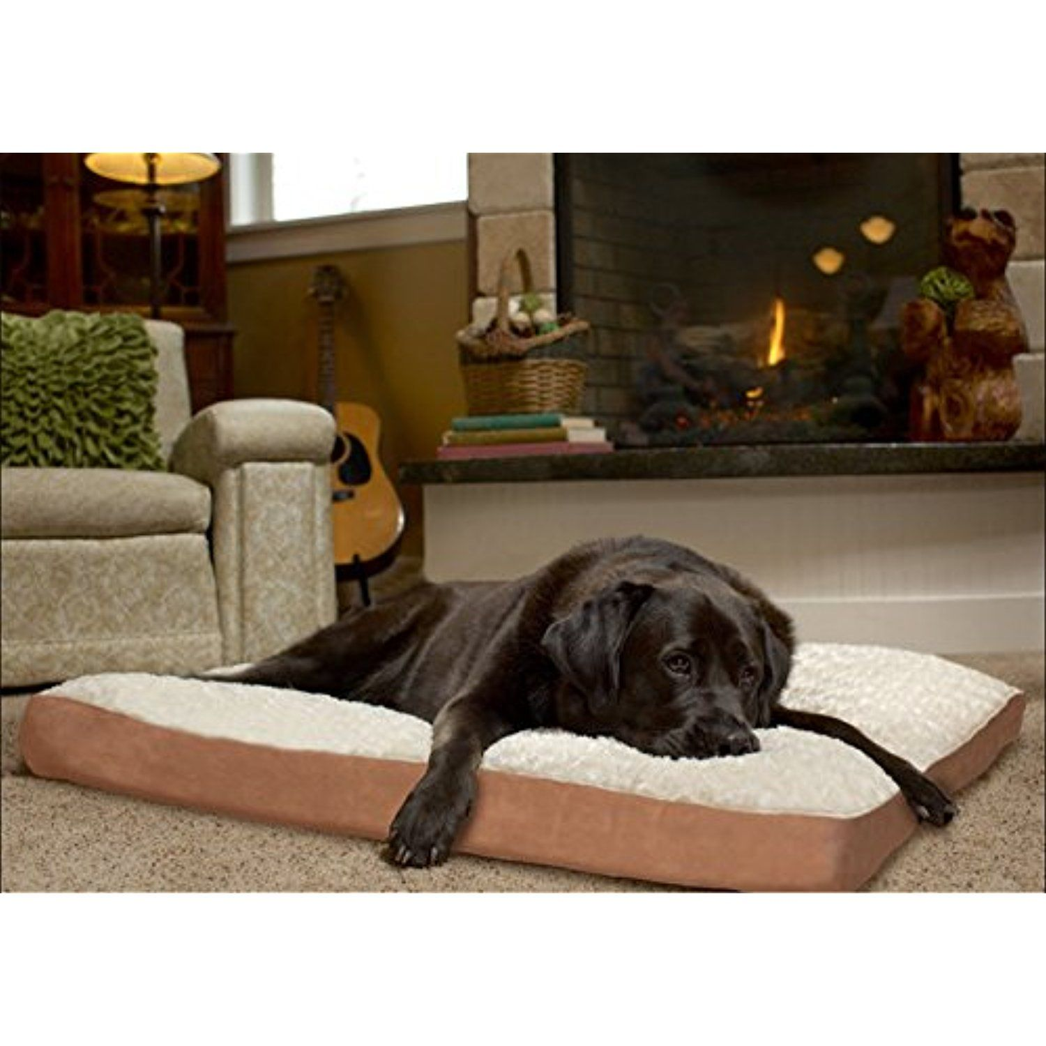 Extra Large Dog Ultra Plush Deluxe Cooling Gel Memory Foam